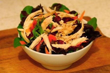 Post image for Sesame Soy Chicken Salad