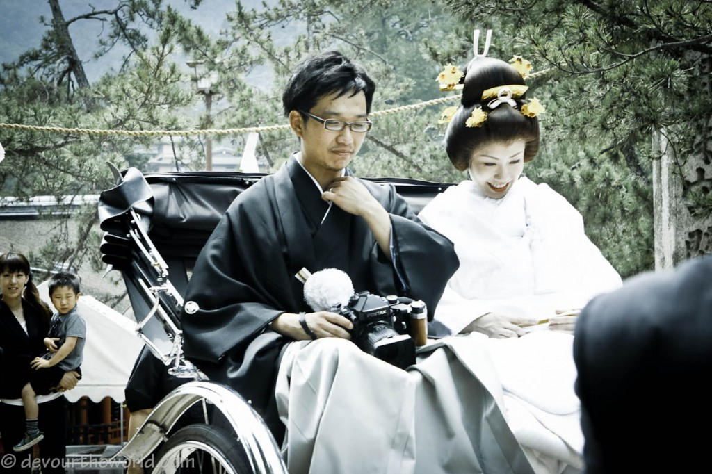 Photo Friday: Japanese Wedding Couple In Traditional Dress